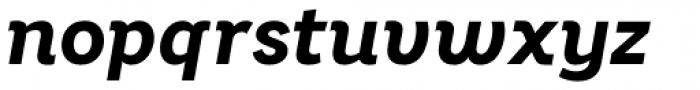 Bright Grotesk Bold Italic Font LOWERCASE