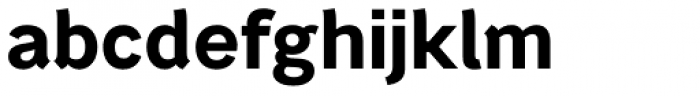 Bright Grotesk Bold Font LOWERCASE
