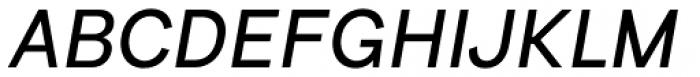 Bright Grotesk Italic Font UPPERCASE