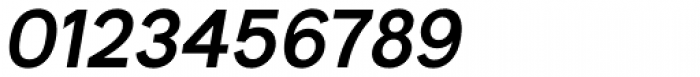Bright Grotesk Semibold Italic Font OTHER CHARS