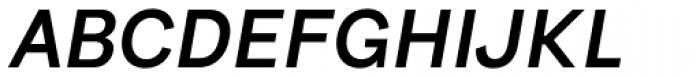Bright Grotesk Semibold Italic Font UPPERCASE
