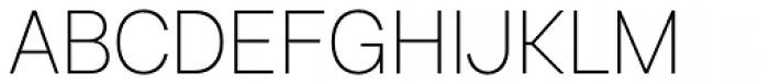 Bright Grotesk Ultra Light Font UPPERCASE