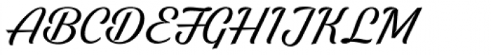 Bright Larch Font UPPERCASE