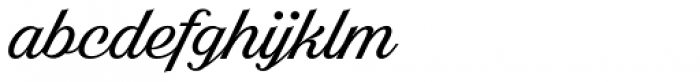 Bright Larch Font LOWERCASE
