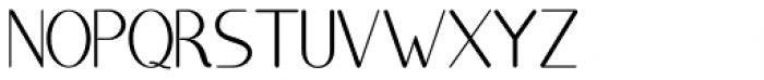 Brighty Regular Font UPPERCASE