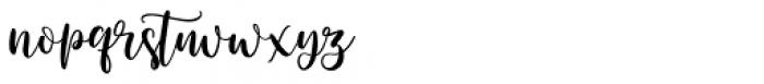 Brigitte Regular Font LOWERCASE