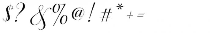 Brignola - PUA Script Font OTHER CHARS