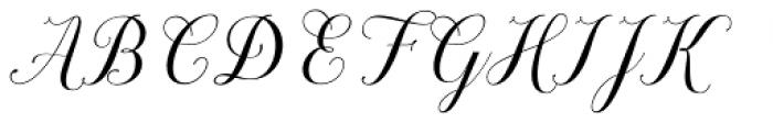Brignola - PUA Script Font UPPERCASE