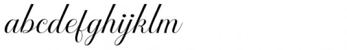 Brignola - PUA Script Font LOWERCASE