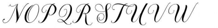 Brignola Font UPPERCASE