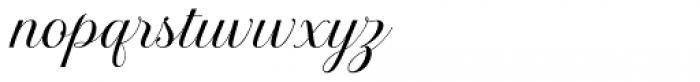 Brignola Font LOWERCASE