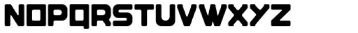 Brik Regular Font UPPERCASE