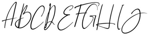 Brilliant Soulmate Italic 2 Font UPPERCASE