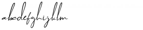 Brilliant Soulmate Italic 2 Font LOWERCASE
