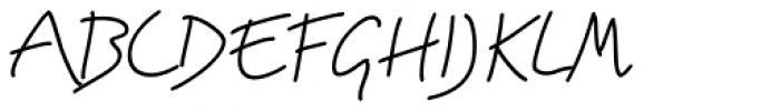 Brillig Line Font UPPERCASE