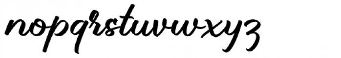 Brillotus Brillotus Font LOWERCASE
