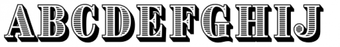 Brim Combined2 Font UPPERCASE