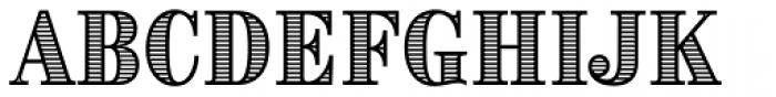 Brim Combined Font UPPERCASE