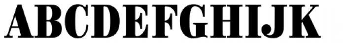 Brim Narrow Face Font UPPERCASE