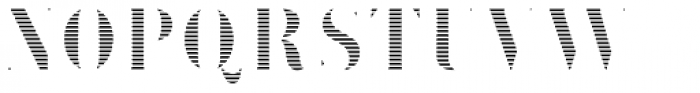 Brim Narrow Fat Lines Font LOWERCASE