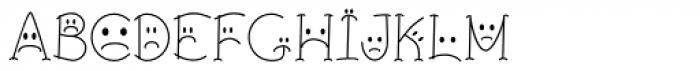 BringInTheFrowns Font UPPERCASE