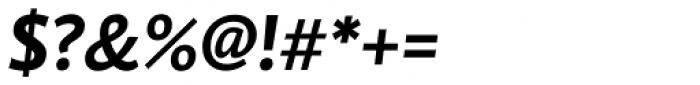 Brioni Sans Std Medium Italic Font OTHER CHARS