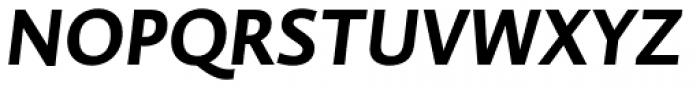 Brioni Sans Std Medium Italic Font UPPERCASE