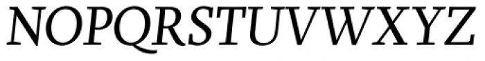 Brioni Std Light Italic Font UPPERCASE