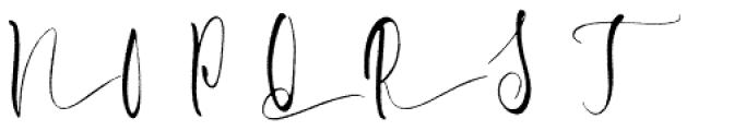 Briosh Rough Font UPPERCASE
