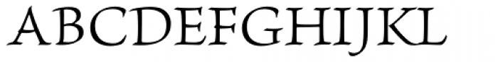 Brioso Pro Caption Light Font UPPERCASE