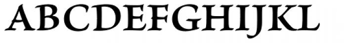 Brioso Pro Caption SemiBold Font UPPERCASE