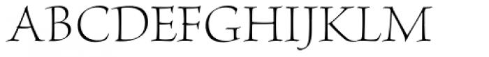 Brioso Pro Display Light Font UPPERCASE