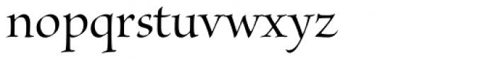 Brioso Pro Display Medium Font LOWERCASE