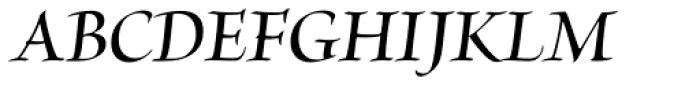 Brioso Pro Display SemiBold Italic Font UPPERCASE