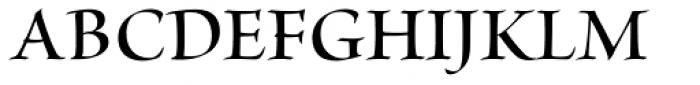 Brioso Pro Display SemiBold Font UPPERCASE