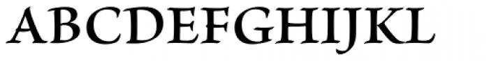 Brioso Pro SemiBold Font UPPERCASE