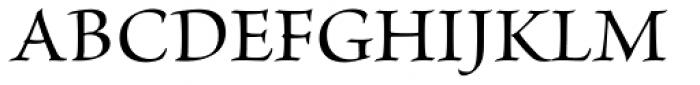 Brioso Pro SubHead Medium Font UPPERCASE