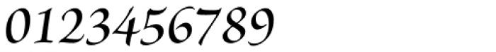 Brioso Pro SubHead SemiBold Italic Font OTHER CHARS