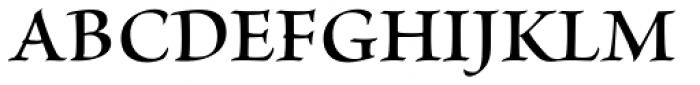 Brioso Pro SubHead SemiBold Font UPPERCASE