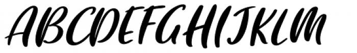 Brisbane Regular Font UPPERCASE