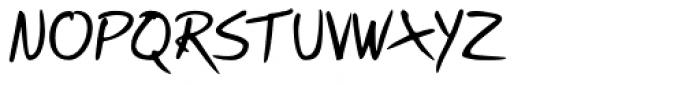 Briskly Font UPPERCASE