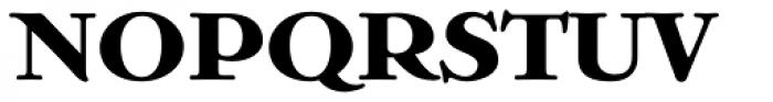 Bristol Solid Font UPPERCASE
