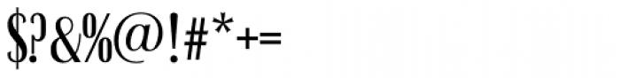 Britannic Compress D Medium Font OTHER CHARS