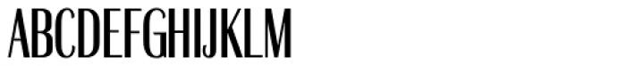 Britannic Compress D Medium Font UPPERCASE