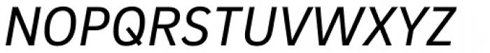 Brix Sans Italic Font UPPERCASE