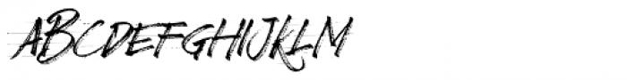 Broader Regular Font UPPERCASE