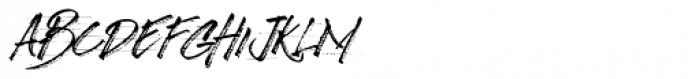 Broader Regular Font LOWERCASE