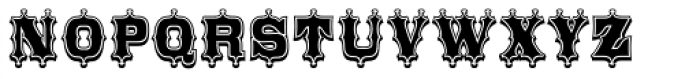 Broadgauge Ornate Xtra Cond Font UPPERCASE