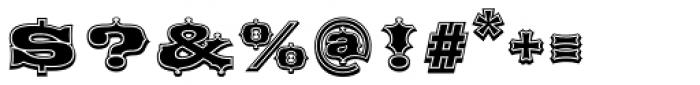 Broadgauge Ornate Font OTHER CHARS