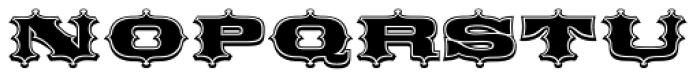 Broadgauge Ornate Font UPPERCASE